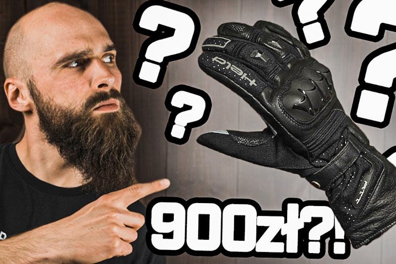 Czy warto zainwestować 900 zł w rękawice motocyklowe?