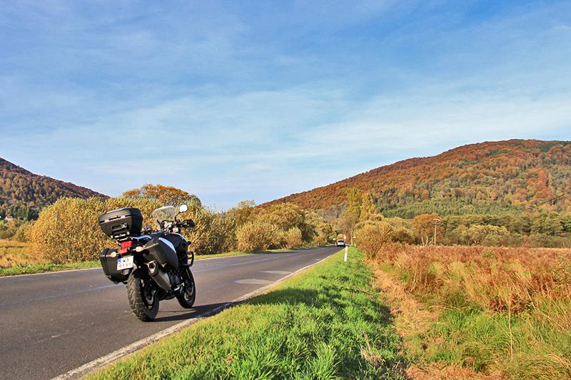 Motocyklowe inspiracje Held - Bieszczady