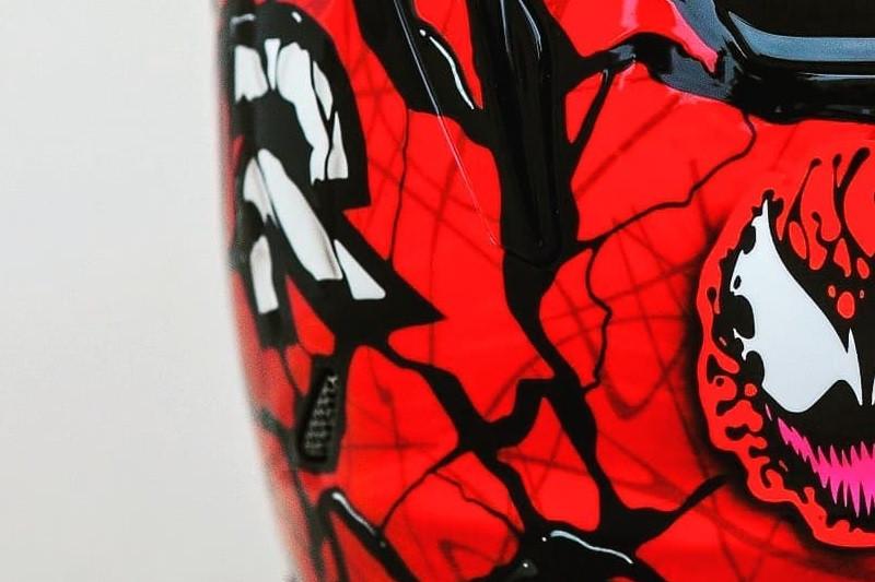 Nowe malowanie Marvela! Poznajcie HJC RPHA-11 Carnage