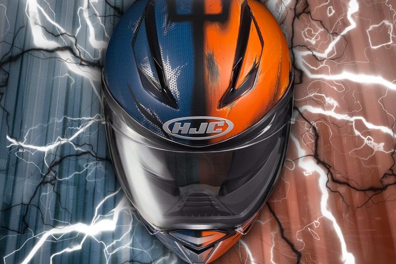 Nowe malowanie kasku HJC F70. Przed wami Deathstroke!