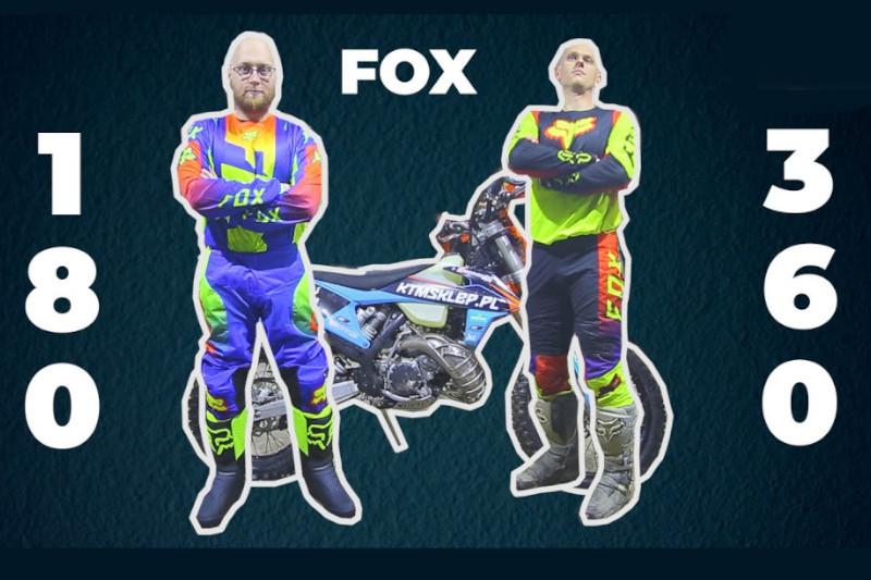 Poznaj różnice pomiędzy FOX 180 a FOX 360