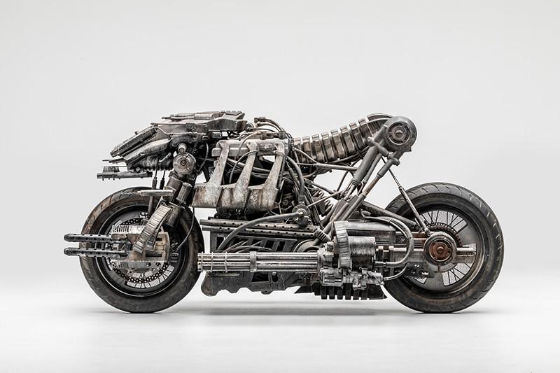 Moto Terminator. Odjechany motocykl i gwiazda filmowa