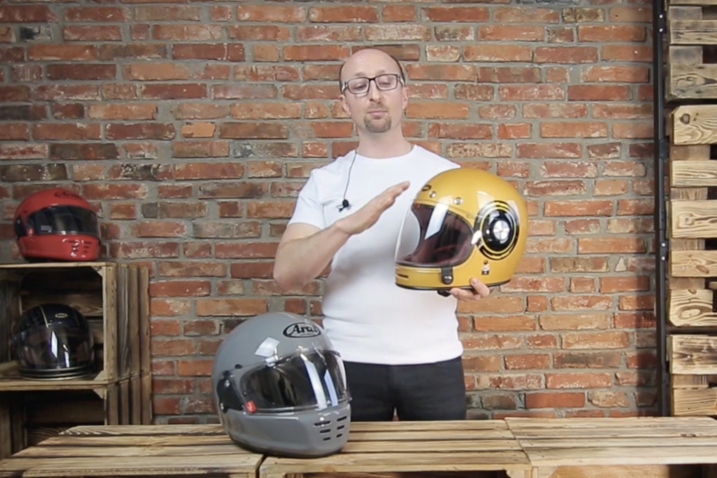 Arai Concept X i Bell Bullitt - poznaj dwa ikoniczne kaski motocyklowe