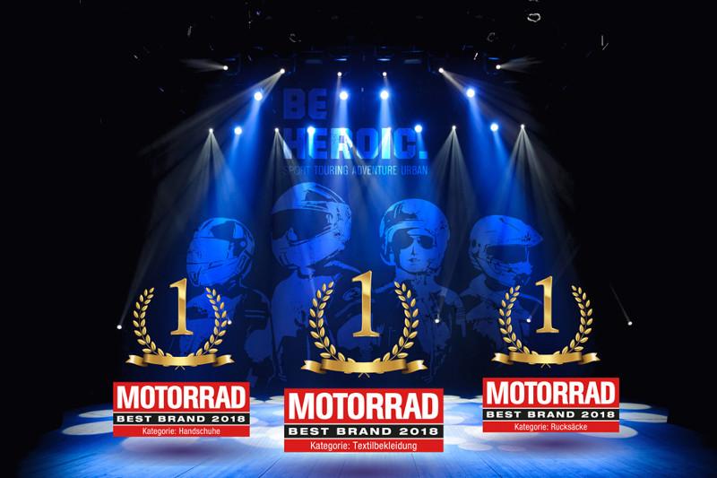 """Held podwójnym zwycięzcą w plebiscycie """"Best Brand"""" magazynu Motorrad"""