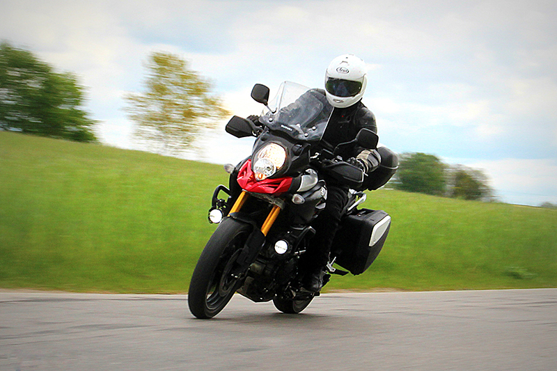 Motocykliści wybierają bezpieczeństwo zamiast szybkości