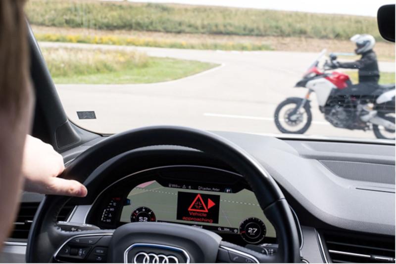 EuroNCAP będzie punktował poprawne działanie systemów wykrywających motocykle