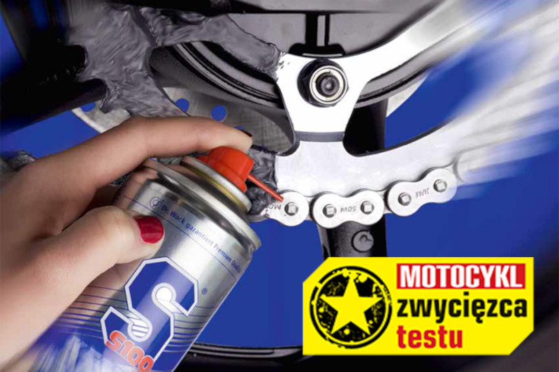 KETTEN REINIGER KRAFT-GEL zwycięzcą testu czasopisma Motocykl