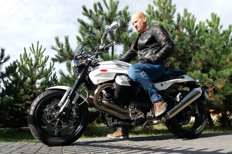 Jaki motocykl kupić? Moto Guzzi Griso 1200 8V