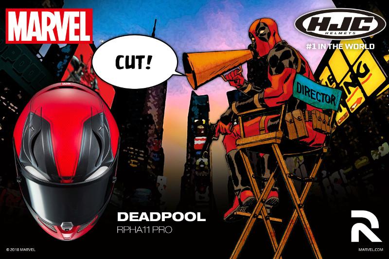 HJC Przedstawia nowy kask RPHA 11 Deadpool
