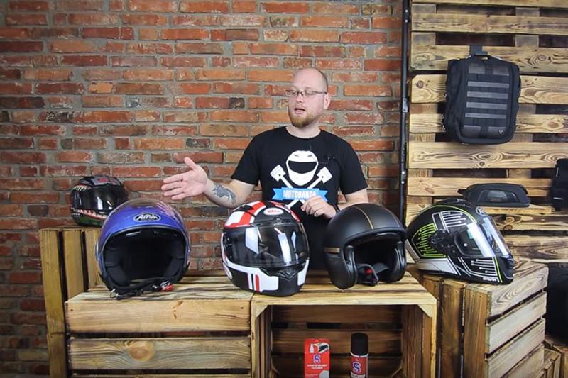 Kask na motocykl 125 cm3 i skuter - jaki wybrać? [Film]