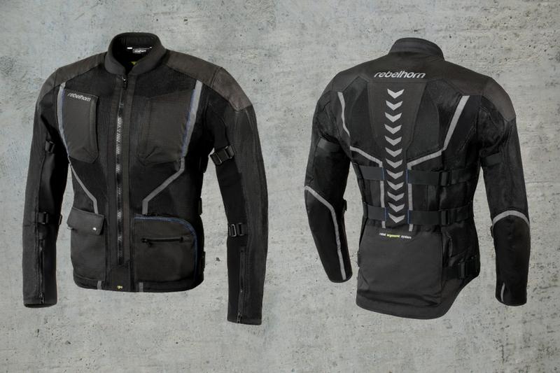 Rebelhorn Scandal - motocyklowa kurtka stworzona na lato