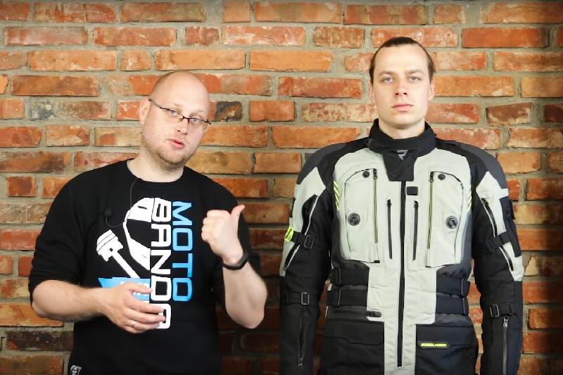 Jaką kurtkę turystyczną na motocykl wybrać? Porównanie Rebelhorn, RST i Held [MOTOBANDA]