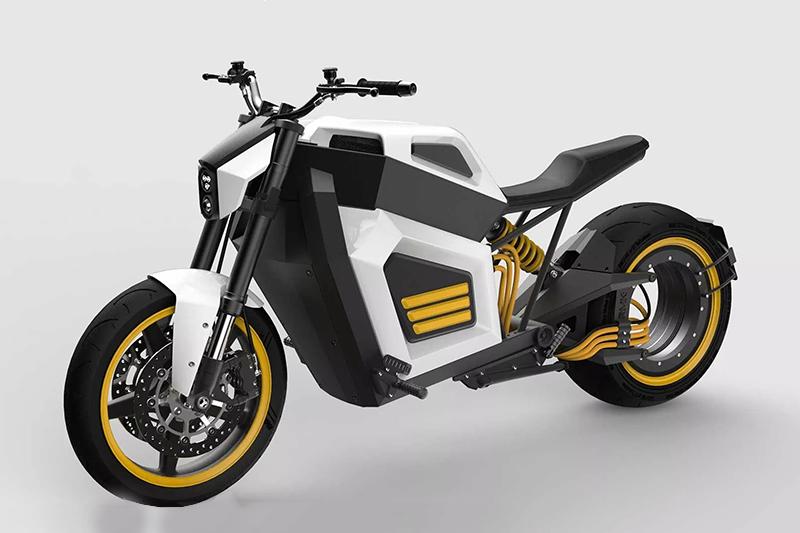 RMK E2 - elektryczny motocykl z normalnym zasięgiem