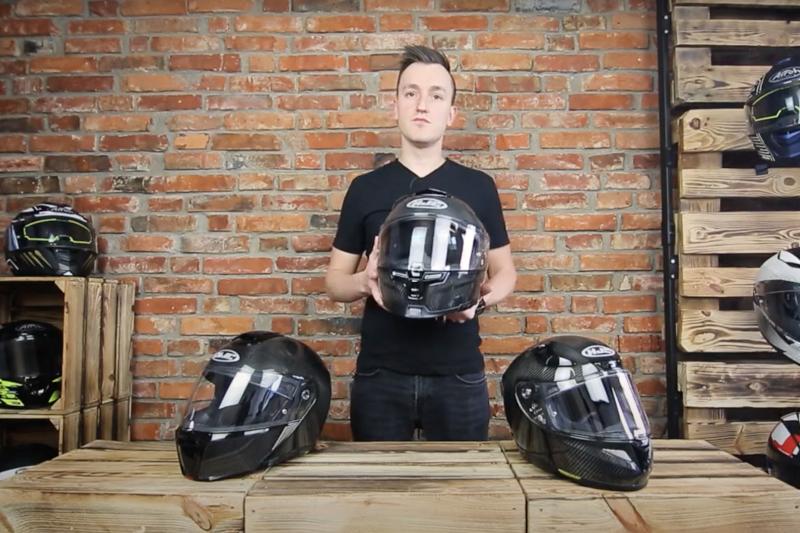 HJC RPHA Carbon - nowa carbonowa linia kasków motocyklowych HJC