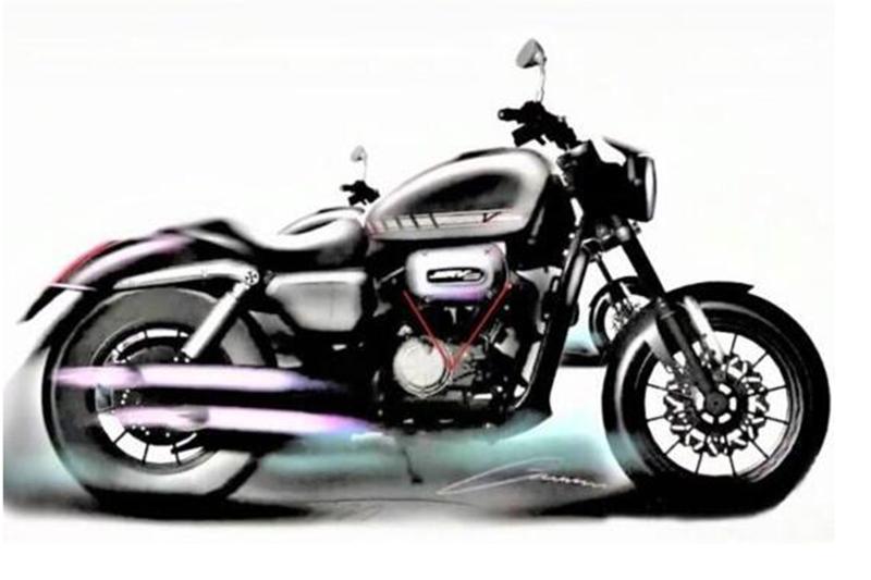 Pierwszy Harley-Davidson z Chin. 300 cm3 z małego V-twina